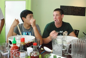 The Viking tries competitive eating by taking on the Pho Challenge