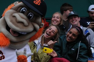 Paly night at the San Jose Giants game