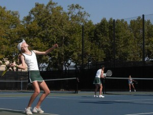 Girls' Tennis places third in the Paly Invitational Tournament