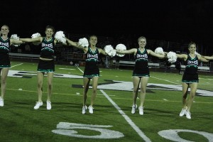 Palo Alto High School's dance team performs at Paly sporting events