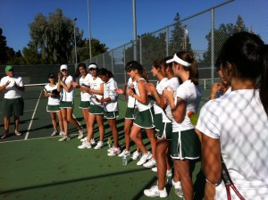 Girls' Tennis loses to Los Altos 3-4