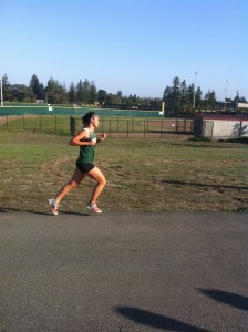 Girls' cross-country places second at the Palo Alto City Meet