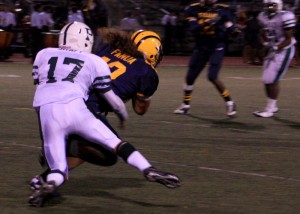 Football conquers Milpitas, 62-35, to win league