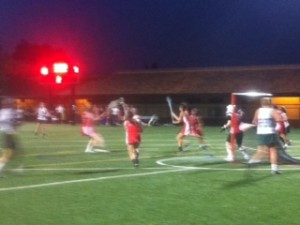 Paly Varsity Girls' Lacrosse Defeats Rival Gunn in a Grueling 10-8 victory