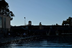 Swimming snags win over Monta Vista