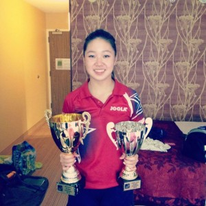 Olympian Lily Zhang named 2012 Junior and Women's North American Champion