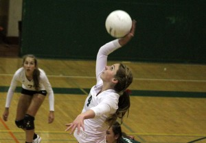 Paly volleyball beats Homestead in three sets