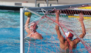 Boys' waterpolo defeats Monta Vista, 12-8