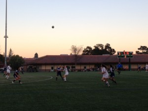 Girls' varsity soccer undefeated in league with another easy win