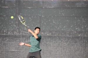 Brief: Freshman clinches win for boys' tennis