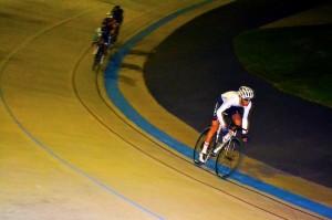 Circling the podiums