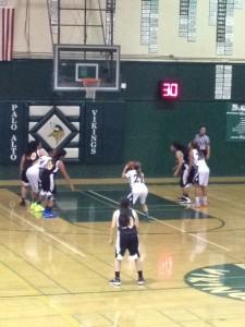 Girls' basketball crushes San Mateo 82-29