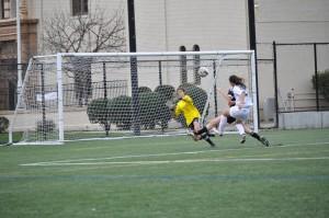 Girls' soccer ties last league game against Los Gatos 2-2