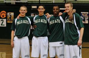 Boys' basketball clinches 54-52 win on senior night