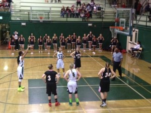 Paly girls' basketball defeats Gunn High School 49-45