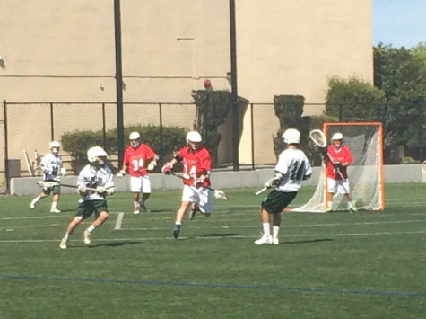 Boys' lacrosse falls to Bella Vista, 8-6