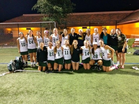 Girls' lacrosse clinches close win against St. Francis