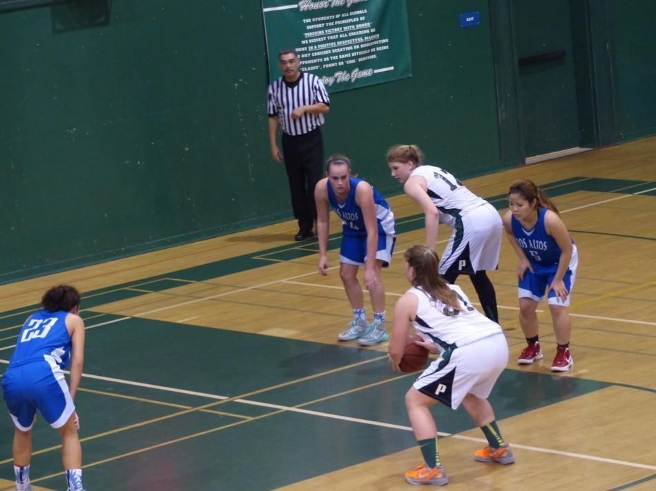 Sophie+Frick+%28%2718%29+prepares+to+shoot+a+free+throw.+The+Lady+Vikes+went+on+to+crush+Wilcox+64-24.