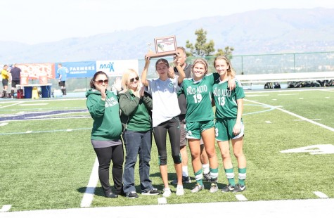 Girls' soccer comes up just short in 3-2 CCS Championship loss to Mountain View