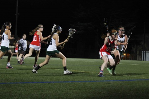 Girls' Lacrosse soars above the Falcons to take the win 15-6