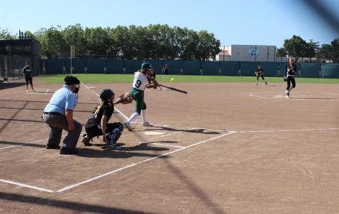 Paly softball falls to Mountain View on senior night