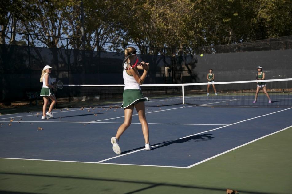 Lady Vikes tennis triumphs over Los Altos 4-3
