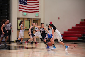 Girls' basketball falls to Dublin 55-49 in 1st round of NorCal tournament