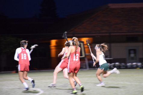 Girls' lacrosse beats Gunn 8-5