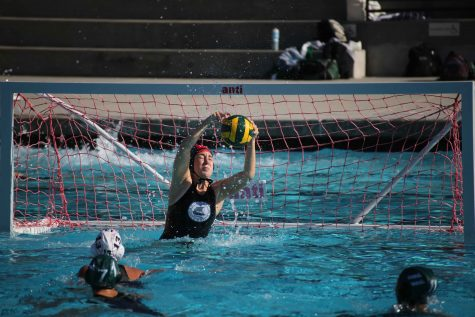 Paly girls' water polo takes care of Fremont High School in a 9-2 victory