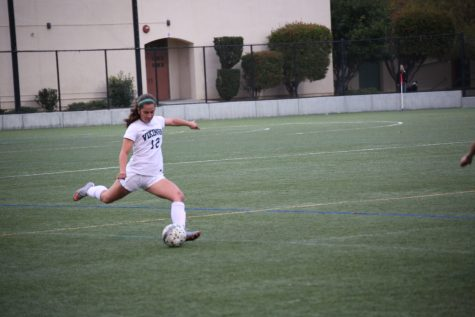 Girls' Soccer defeats league rival Mountain View 2-0