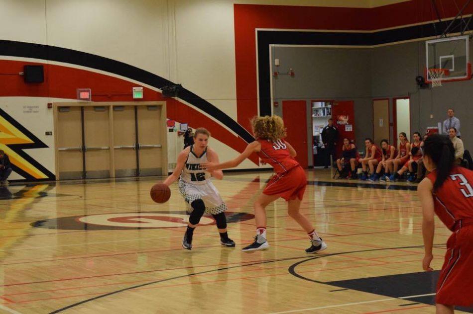 Girls' basketball dominates Saratoga 81-46 in Coach Scott Peters' 200th win