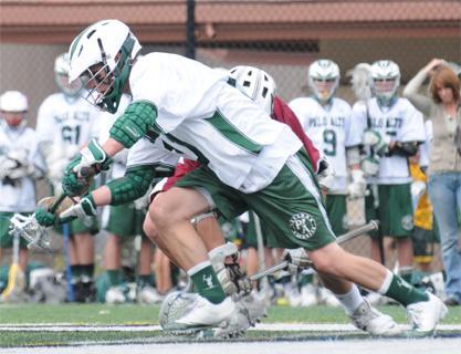 Boys' lacrosse destroys Sacred Heart 12-3