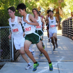 Boys' cross-country places 11th at Central Park