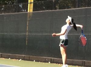 Brief: Girls' tennis falls to Aragon in scrimmage