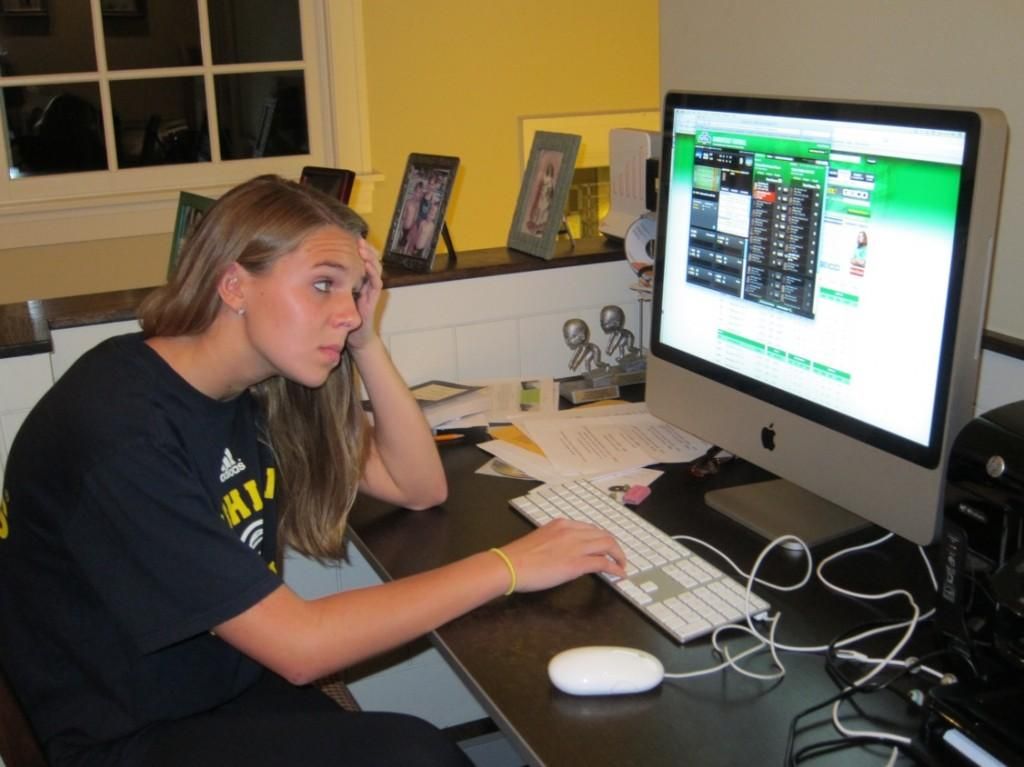 Columnist Shannon Scheel ('12) encounters the weekly struggle of her unfavorable fantasy football running back situation. #Firstworldpains