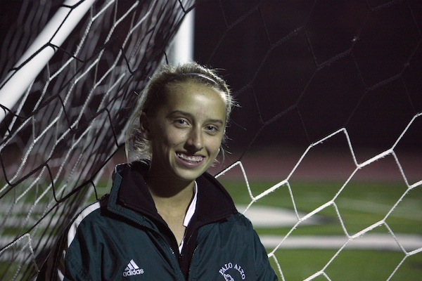 Katie Foug ('15) qualified for the cross-country State meet in the 2011 season, and now plays on the Paly varsity soccer team.