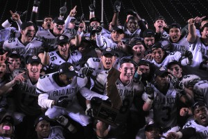 Paly football upsets Centennial 15-13 to seize state title