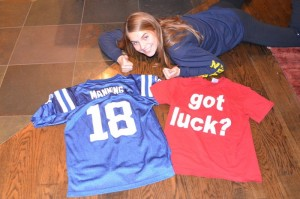 "Colts Getting ""Lucky"""