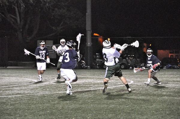 Boys' lacrosse opens season, romps Carlmont 13-1