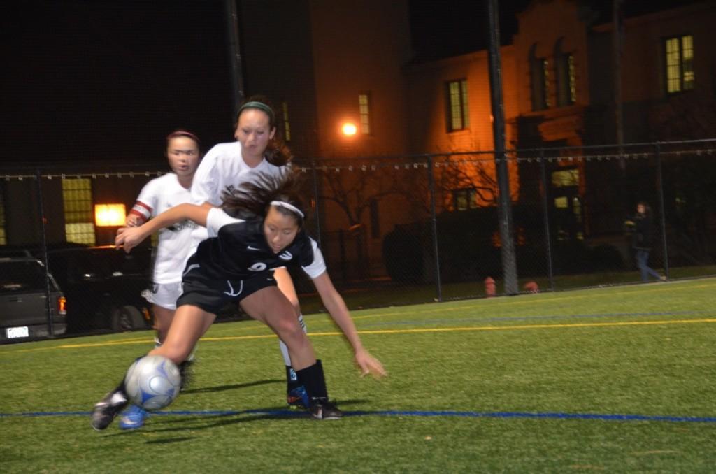Girls' soccer surges past Gunn in first half 3-1