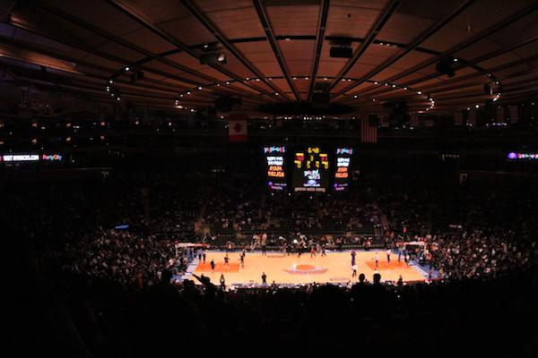 The staff of The Viking takes on MSG. Unfortunately, we had a little difficulty with our tickets.