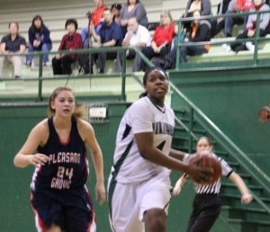 Girls' basketball loses to Pleasant Grove, 66-56