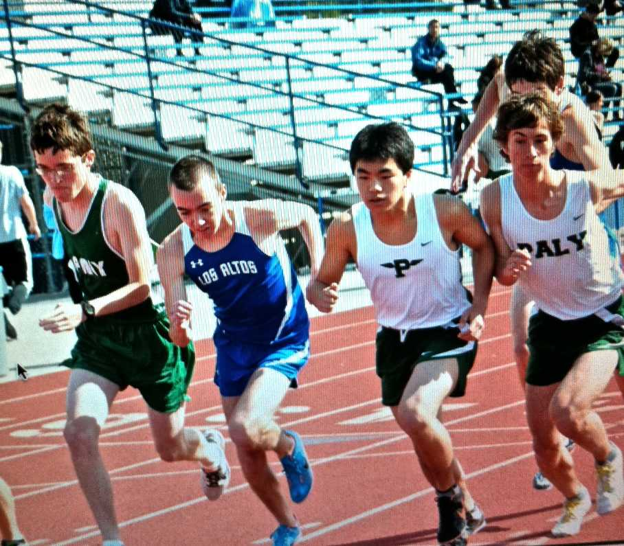 Paly boys track and field beats Los Altos, 70-52