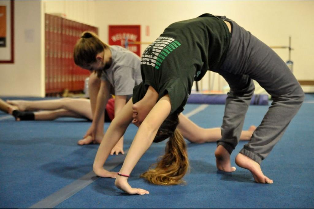 Gymnastics starts out with a one-girl show in SF (Brief)
