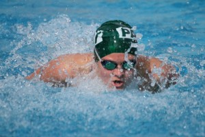 The Boys and Girls Swimming teams defeat Gunn