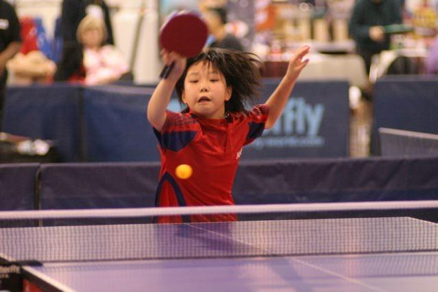 Viking Lily Zhang gets ready to compete in the 2012 London Olympics
