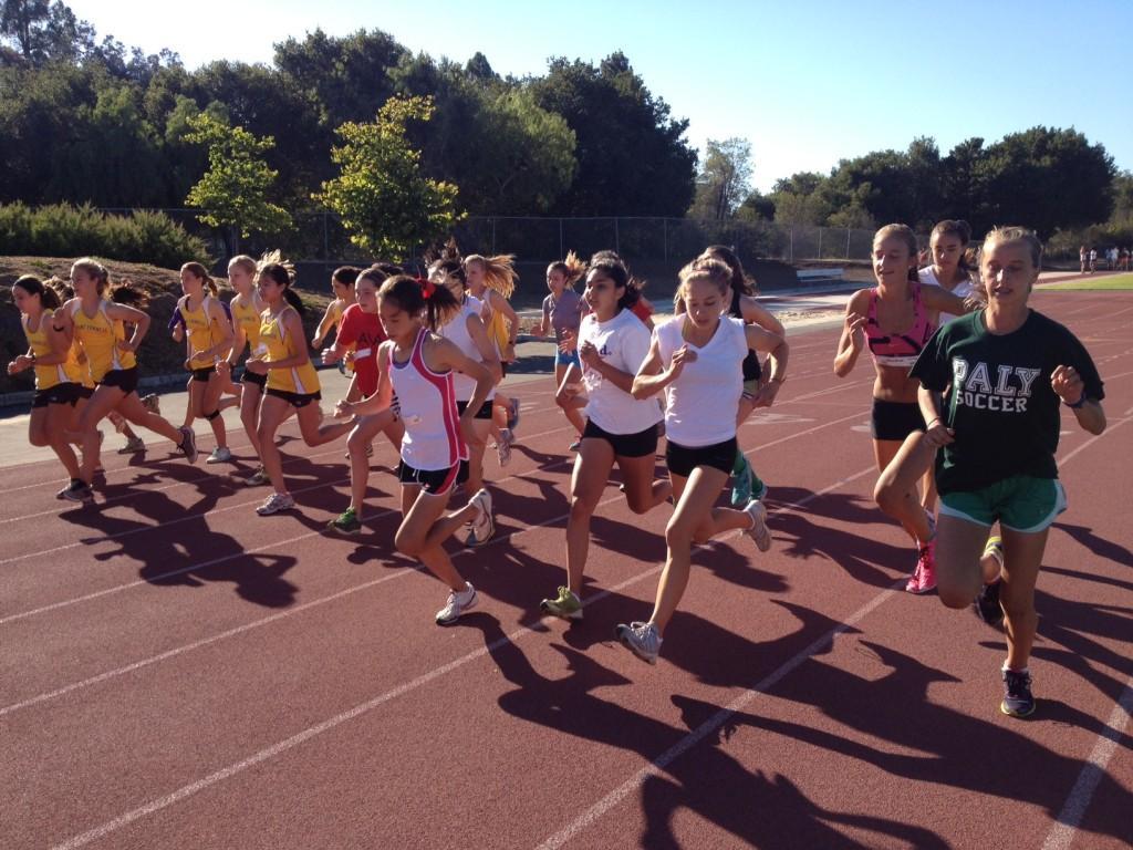 Girls cross-country places second at Gunn High School alumni meet