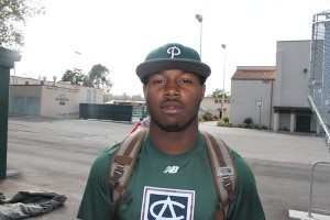 Boyd poses for the camera after baseball practice. Boyd would be taken in the MLB draft just days later.