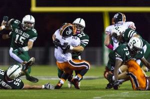 Vikings silence the Los Gatos Wildcats in 25-7 blowout