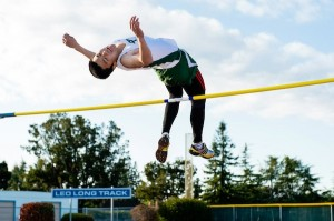 Victor Du ('13) helped lead the boys' Paly jumping to a 5-0 record this year.